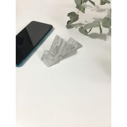 Soporte para móvil gris